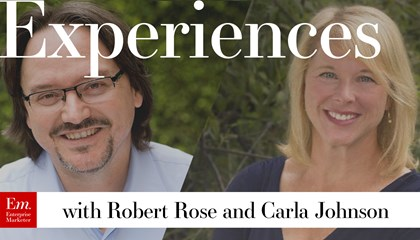 Experiences with Robert Rose and Carla Johnson