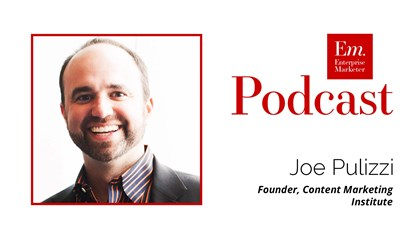 Joe Pulizzi, Founder of the Content Marketing Institute at Content Marketing World 2016