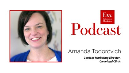 Amanda Todorovich on Content Marketing Teams at Content Marketing World 2016