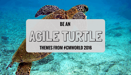 Agile Themes from Content Marketing World