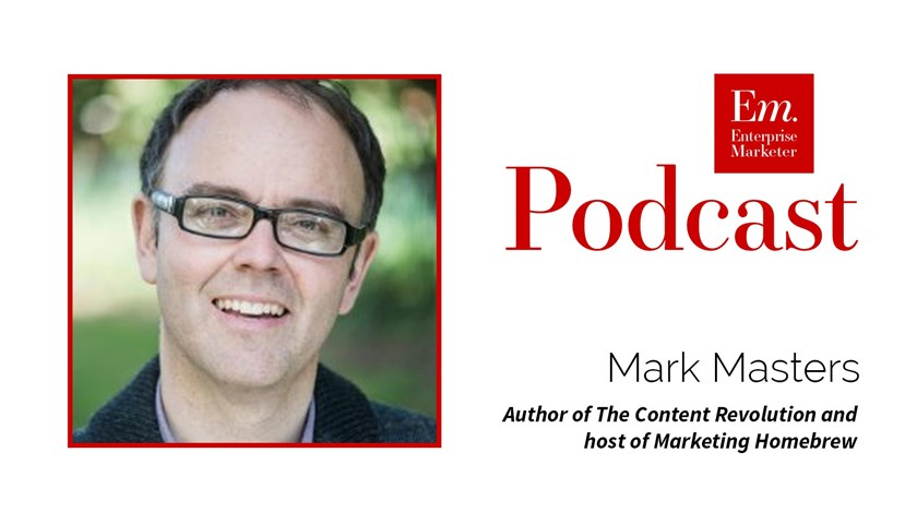 Mark Masters on Podcasting with in a Content Strategy at Content Marketing World 2016