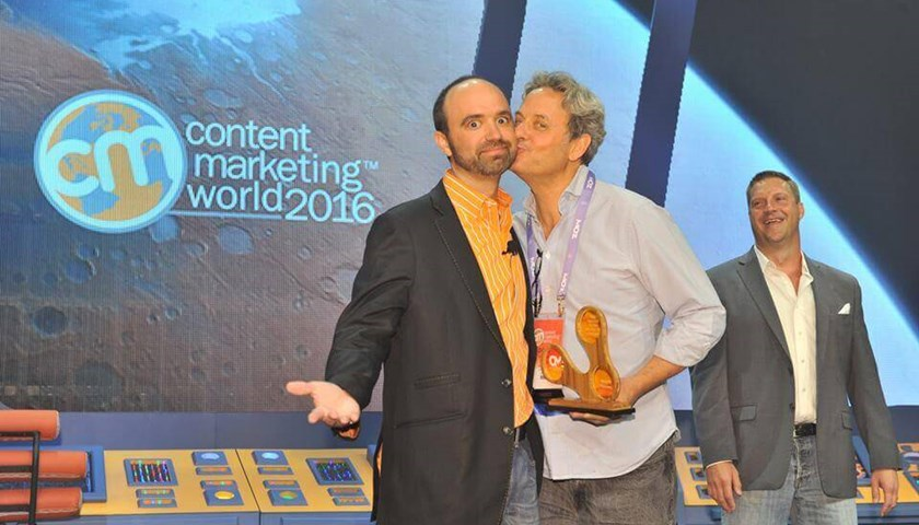 Velocity wins Content Marketing Agency of the Year 2016!