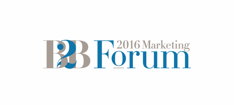 MarketingProfs' B2B Forum 2016