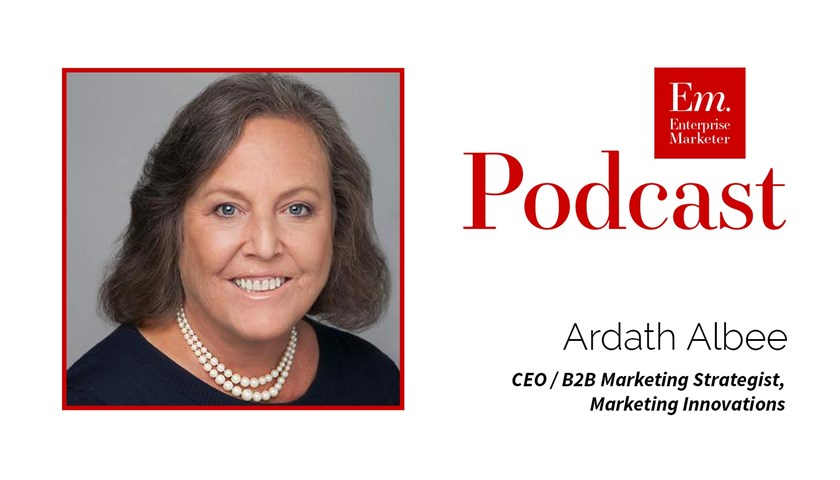 Ardath Albee on Personas and the Customer Journey