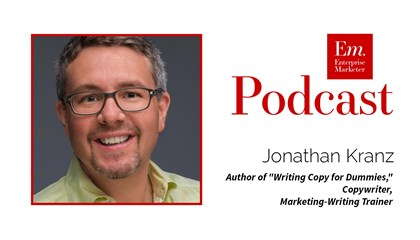Jonathan Kranz on Copywriting in Content Marketing