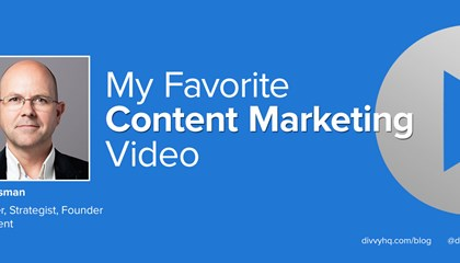 My Favorite Content Marketing Video: AJ Huisman