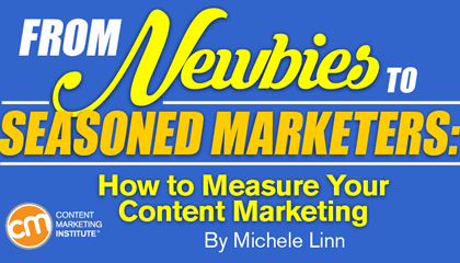 From Newbies to Seasoned Marketers: How to Measure Your Content Marketing