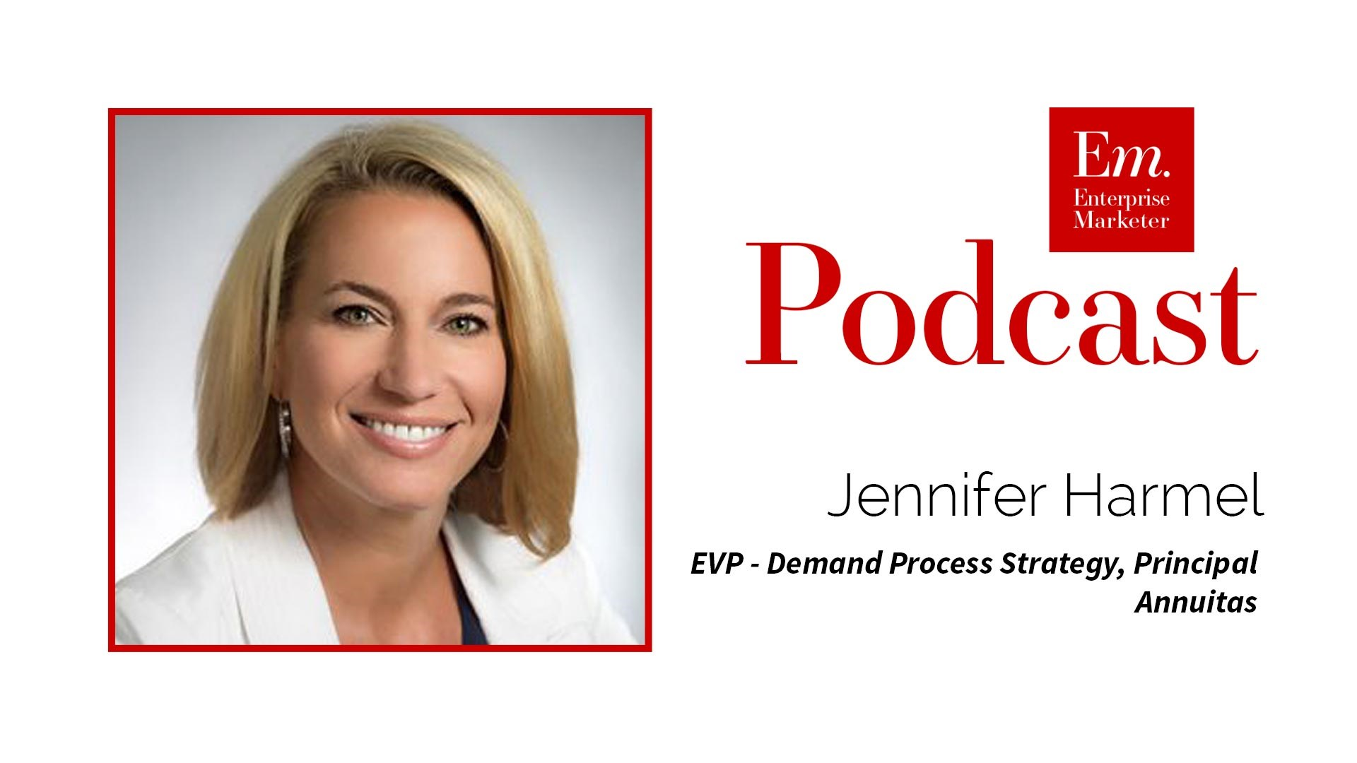 Jennifer Harmel on Change Management in Marketing