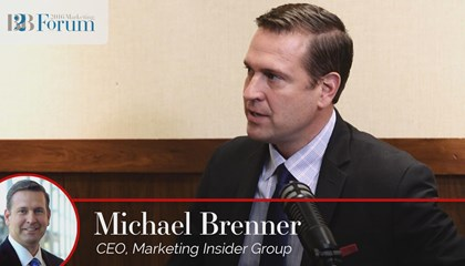 Michael Brenner on Content Marketing in the Enterprise to the Small Business