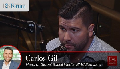 Carlos Gil on Snapchat for B2B Marketers