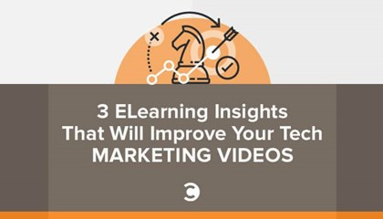 3 ELearning Insights That Will Improve Your Tech Marketing Videos