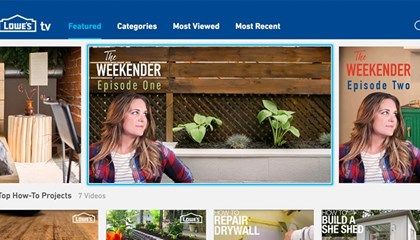 How Lowe's Captured the Attention of the Cord-Cutting Millennial Using Innovative Episodic Video Series