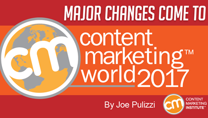 Major Changes Come to Content Marketing World 2017