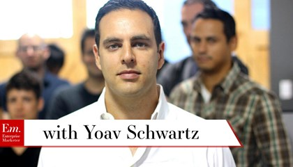 Yoav Schwartz on the 4 Pillars of Content Marketing Tools