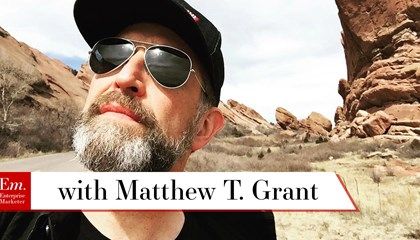 Matthew T. Grant on Content Strategy and Podcasting
