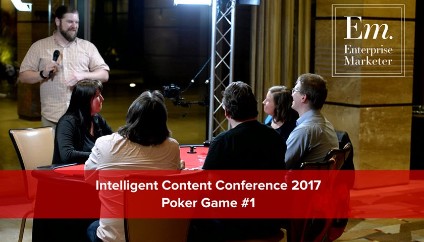 First Enterprise Marketer Poker Game from ICC17
