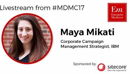 Livestream - 4/12/2017 1:30 PM CST - Maya Mikati at MDMC