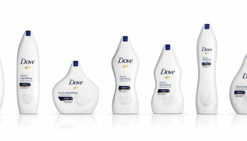 Brand over-reach: Dove's 'Real Beauty' bottle shapes - Velocity Partners