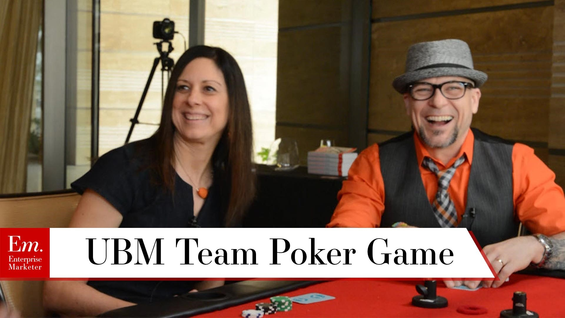 Poker Game 3 with the UBM Team at the Intelligent Content Conference