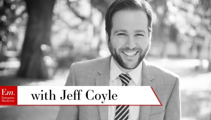 Jeff Coyle on Finding Marketing Insights for Your Efforts
