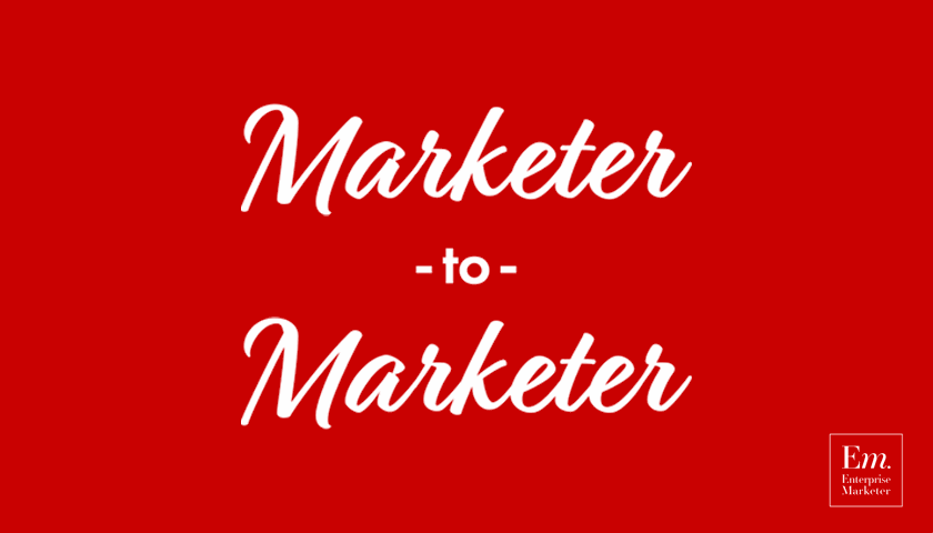 Marketer-to-Marketer