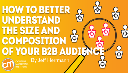 How to Better Understand the Size and Composition of Your B2B Audience