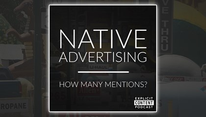 Native Advertising - When Should I Mention My Brand?