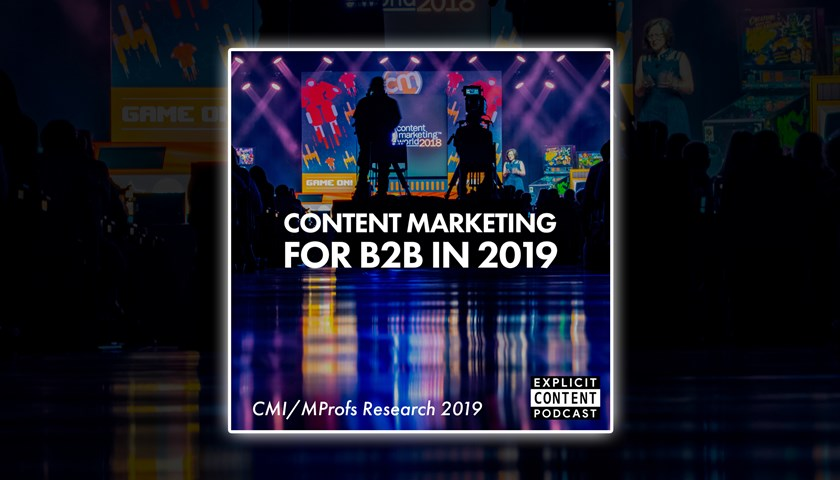 Insights for B2B Content Marketing in 2019 - Research