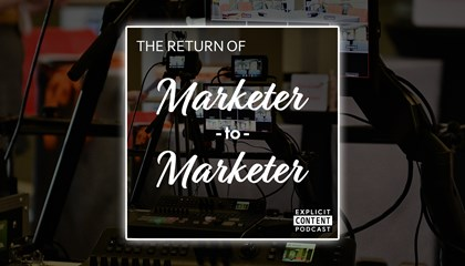 Marketer-to-Marketer Takeover for This Week's Explicit Content Podcast