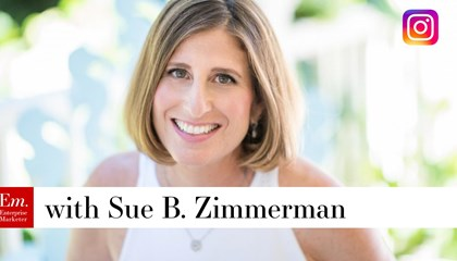 Sue B. Zimmerman and Jeff Julian Discuss Instagram